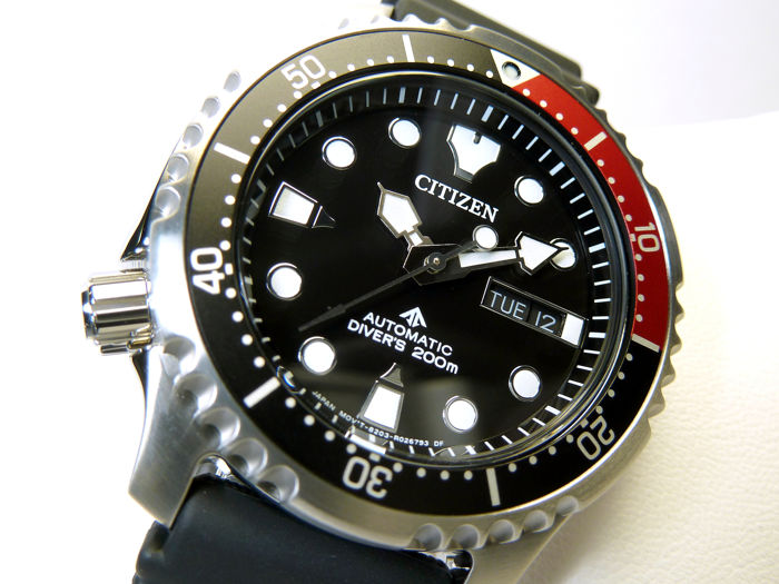 Citizen - Promaster Aqualand Automatic Divers 200 Metri Nero Black New Special Etition 2019 - NY0085-19E - Heren - 2019