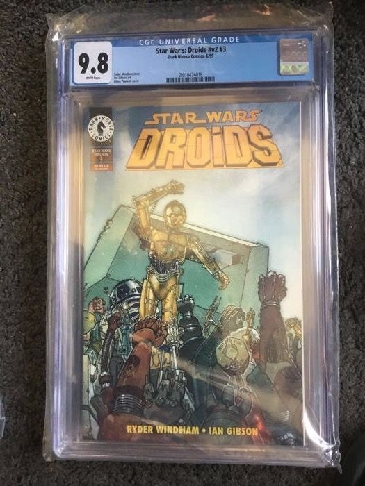 Star Wars Droids #V2 #3 - Extremely high CGC grade 9.8  - Softcover - Eerste druk - (1995)