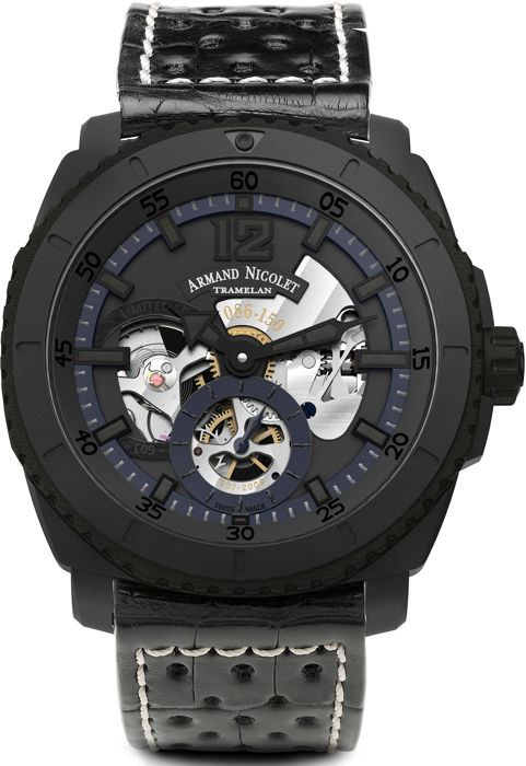 Armand Nicolet - L09 Small Seconds -Limited Edition- - T619N-NR-P760NR4 - from official retailer - Men - 2011-present