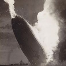 Murray Becker/AP - Hindenburg disaster, Lakehurst, New Jersey, 1937