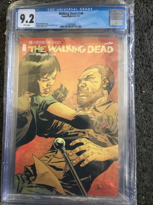 The Walking Dead #146 and #154 -  high CGC grade 9.2 and 9.6 - Softcover - Eerste druk - (2015)