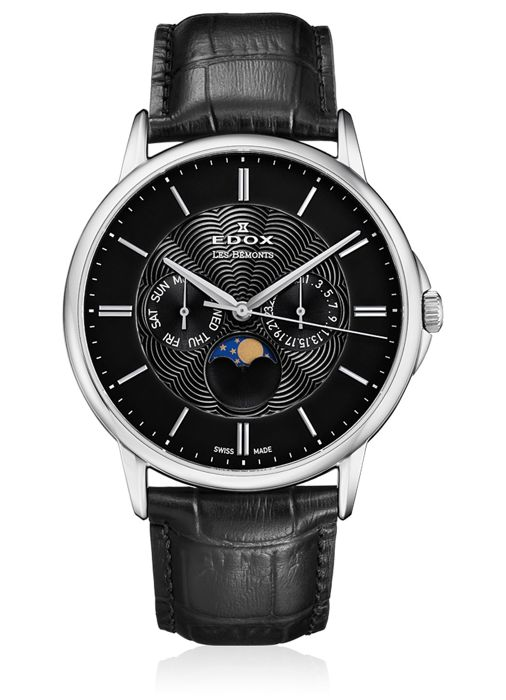 Edox - Les Bémonts Moon Phase Complication - 40002 3 NIN - Men - 2011-present