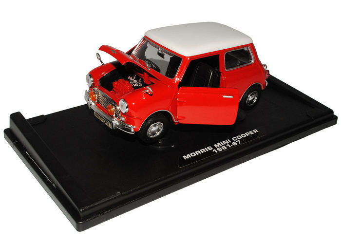 Motormax - 1:18 - Morris Mini Cooper 1961-67 - Die-Cast Collection