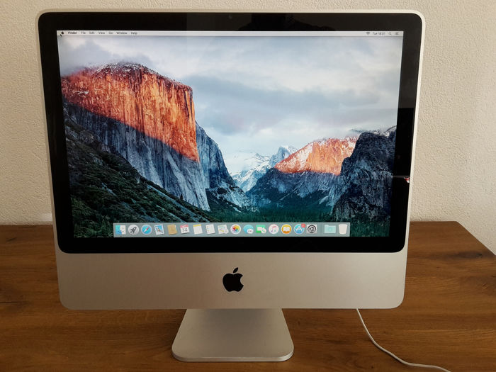 "Apple  iMac ""Core 2 Duo"" 2.4 20-Inch (Early 2008) - Desktop - With replacement box"