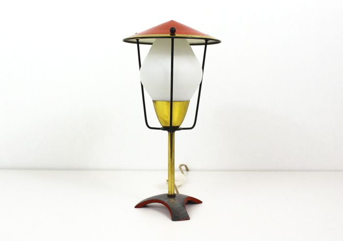 Onbekende designer   - Table lamp - Tripod Lamp
