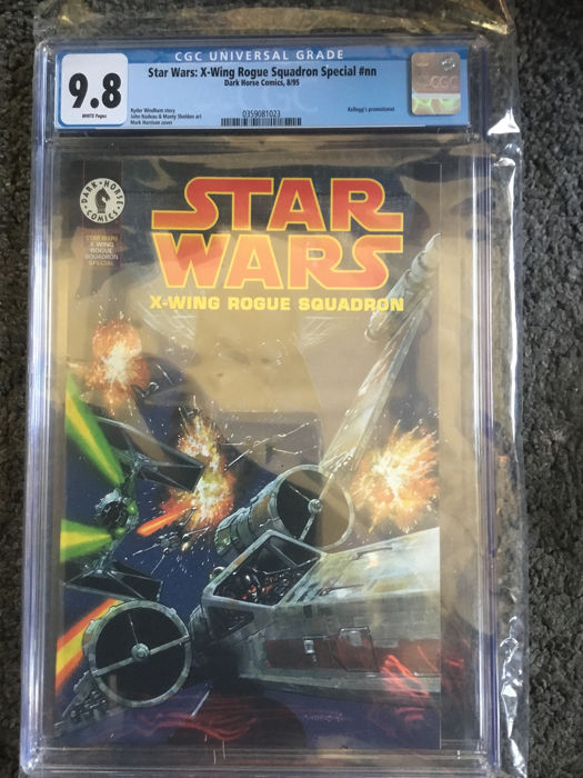 Star Wars X-Wing Rogue Squadron Special #NN - Extremely high CGC grade 9.8 Kelloggs Promotional - Softcover - Eerste druk - (1995)