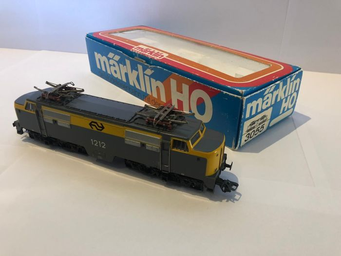 Märklin H0 - 3055 - Electric locomotive - NS 1212 Yellow Gray - High Power Digital