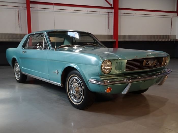 Ford USA - Mustang Hardtop Coupe 200CI (3,3L) I6 - NO RESERVE - 1966