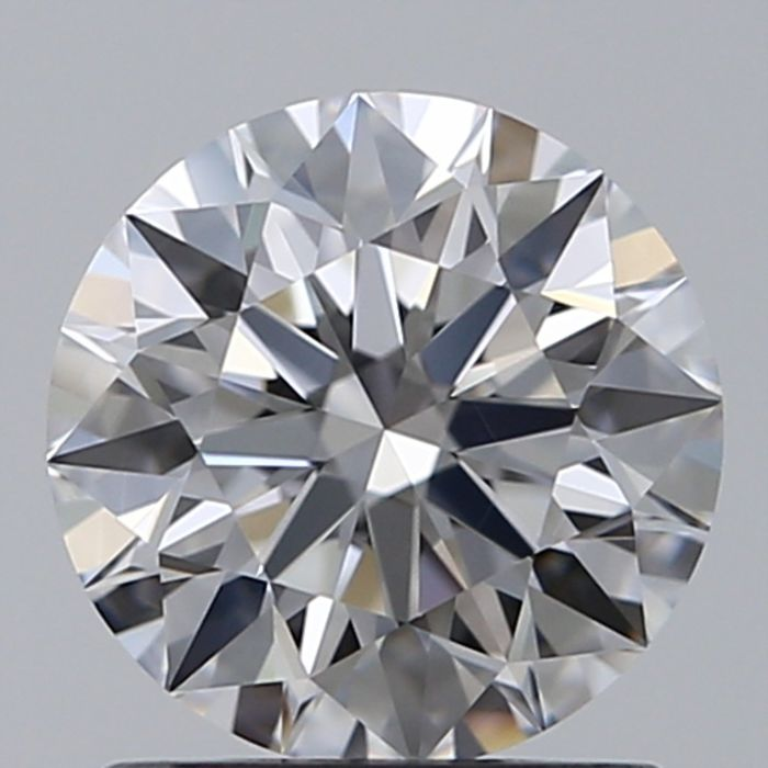 1 pcs Diamant - 0.50 ct - Rund - D (farblos) - IF (makellos)