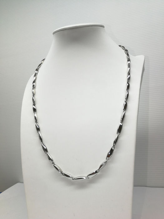 18 carats Or blanc - Collier