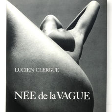 Signed; Lucien Clergue - Née de la Vague - 1968