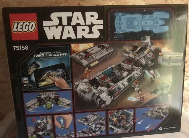 Lego Star Wars 75158 Lego Rebel Combat Frigate Uk Catawiki