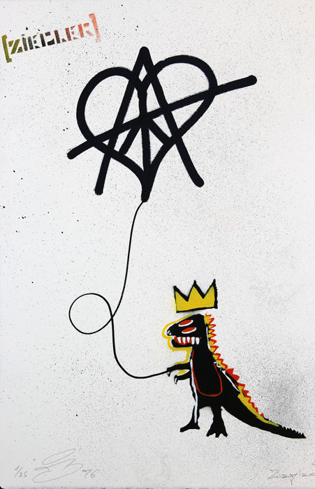 Ziegler T - Peace Love and Anarchy...... and Basquiat