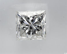 Diamant - 1.01 ct - Prinzess - G - VVS2