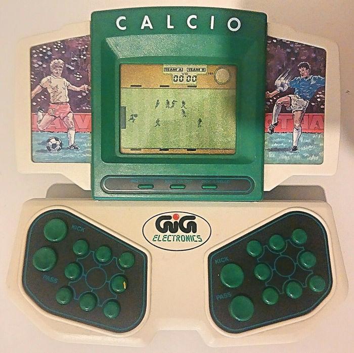 3x Retro Games (Soccer / Tennis / Submarine) GIG Elettronics
