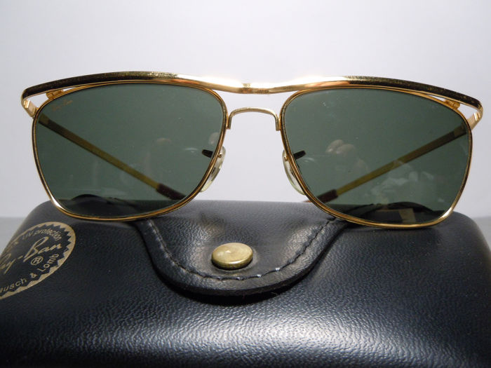 RAY BAN Olympian II DLX De Luxe Vintage 80's By Bausch & Lomb U.S.A. Catawiki
