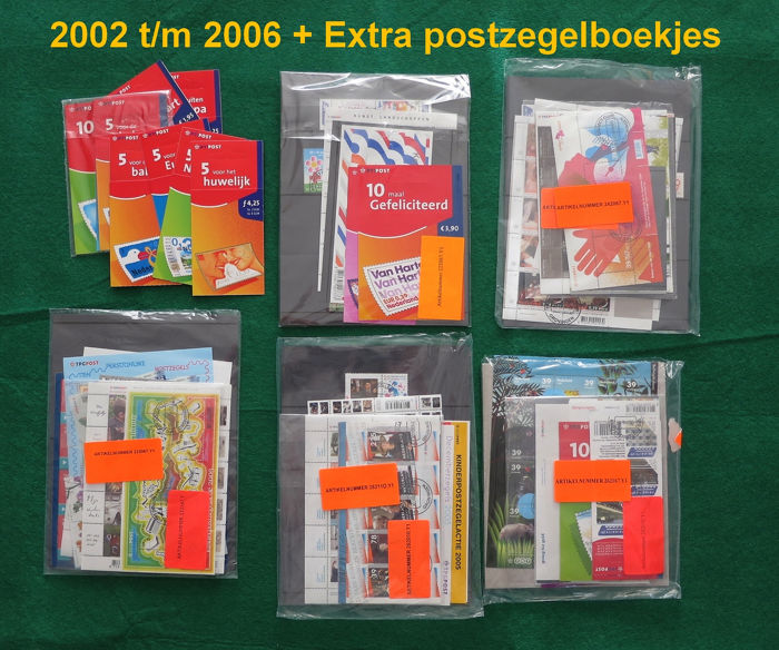 Países Bajos 2002/2006 - Five years of stamps and stamp booklets