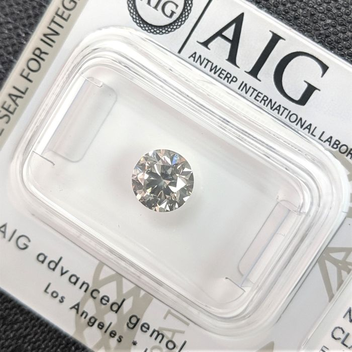 Diamond - 1.03 ct - Brilliant - fancy grey - No Reserve Price, VS2