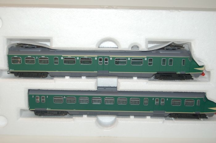 "Piko H0 - 57320 - Train unit - Electric train set, 2-part ""Hondekop"" - NS"