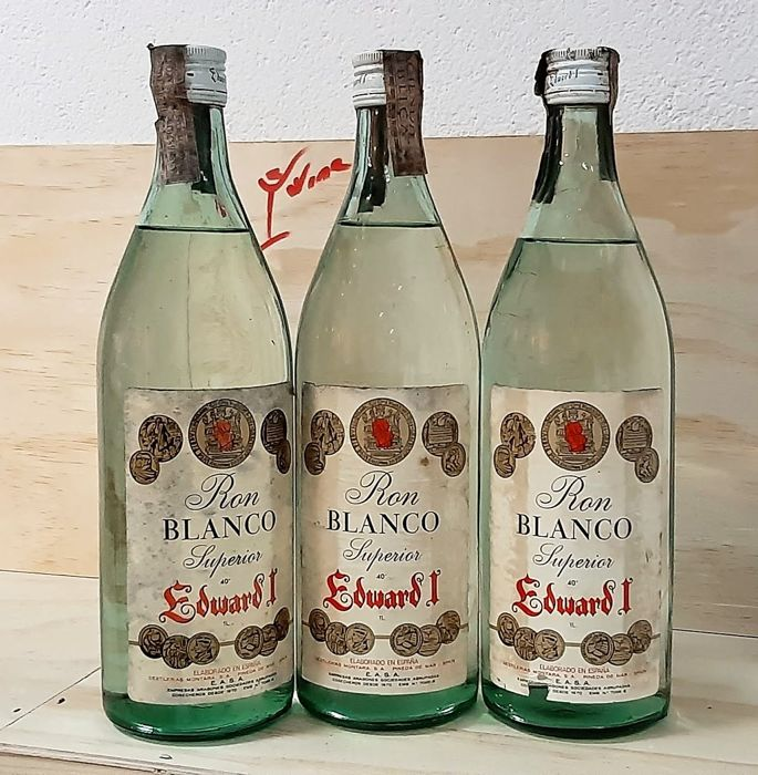 Montara - Edward I - Ron Banco Superior. - b. 1970s - 1.0 Litre - 3 bottles