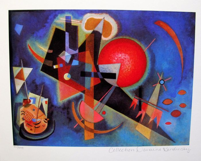 Wassily Kandinsky (after) - In Blue