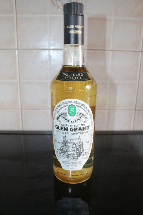 Glen Grant 1980 5 years old - Glen Grant distillery company - 75cl
