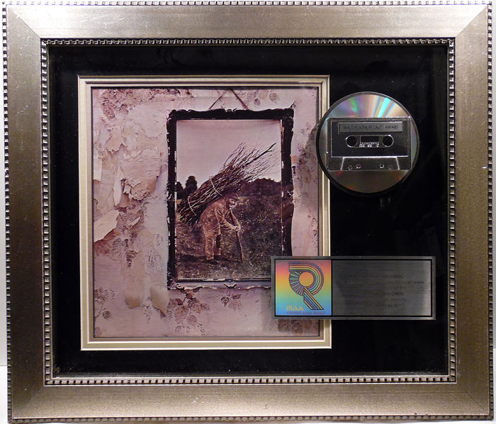 Led Zeppelin - Led Zeppelin IV - Offizieller RIAA-Award - 2006