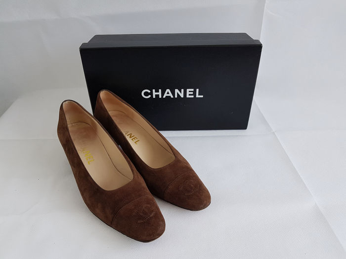 Chanel - pumps - lage hak with box