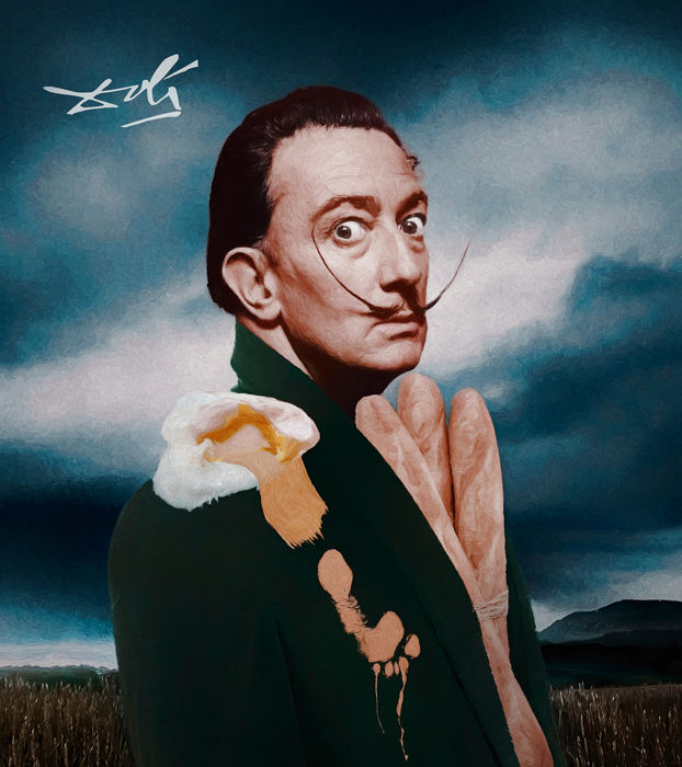 Tan Tolga Demirci - Portrait of Salvador Dali