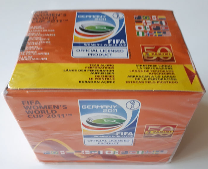 Panini - World Cup Football - Original sealed box Women's World Cup Germany 2011