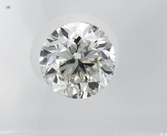 Diamant - 1.07 ct - Briljant - H - VS2
