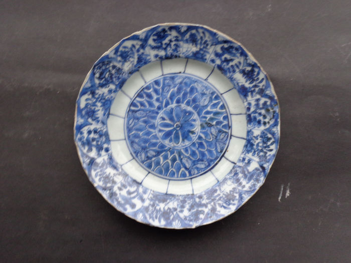 Bird plate kangxi 1662-1722 (1) - Blue and white - Porcelain - Bird - China - 18th century