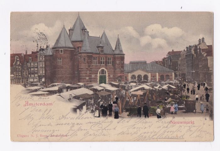 AMSTERDAM - Many beautiful old maps - Postcards (Collection of 114) - 1899-1950