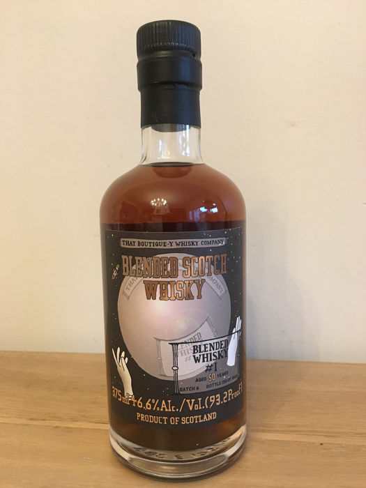 Blended Whisky 50 years old Batch 1 - That boutique -y whisky company - 375ml