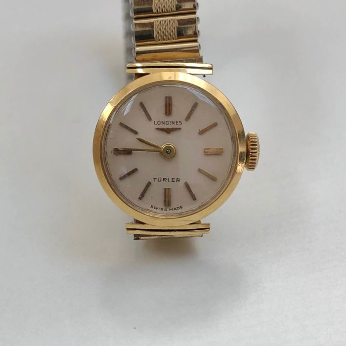 "Longines - ""Turler"" - ""NO RESERVE PRICE"" - ref. 6916 - Dames - 1960-1969"