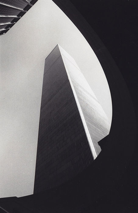 Ray Solowinski  (XX) - World Trade Center tower, New York, c.1970's