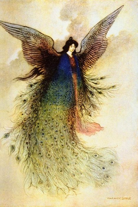 Warwick Goble  - Green Willow and other Japanese Fairy Tales - 1926