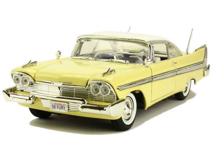 Motormax - 1:18 - Plymouth Fury 1958 - Premium Die-Cast Collection