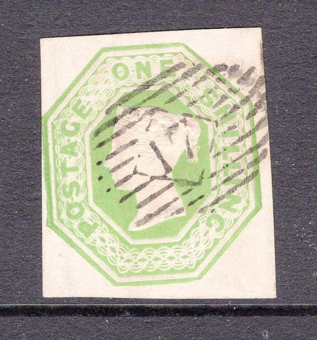 Groot-Brittannië 1847 - 'Queen Victoria, Embossed Issue'  - Stanley Gibbons 54