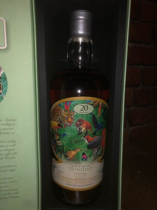 Caroni 1997 20 years old Silver Seal - 70cl