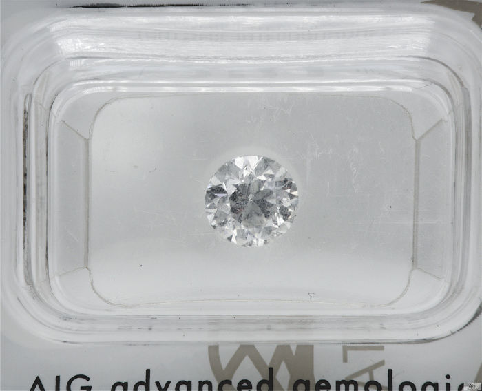 Diamante - 0.97 ct - Brilhante - E - SI1