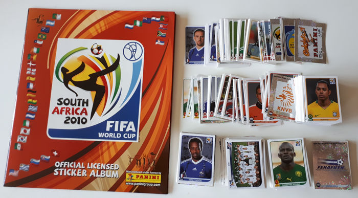 Panini - World Cup 2010 South Africa - Leeg album + complete losse stickerset
