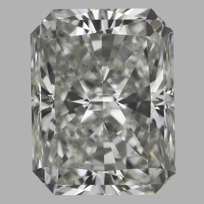 1 pcs Diamante - 0.41 ct - Radiante - G - VS1