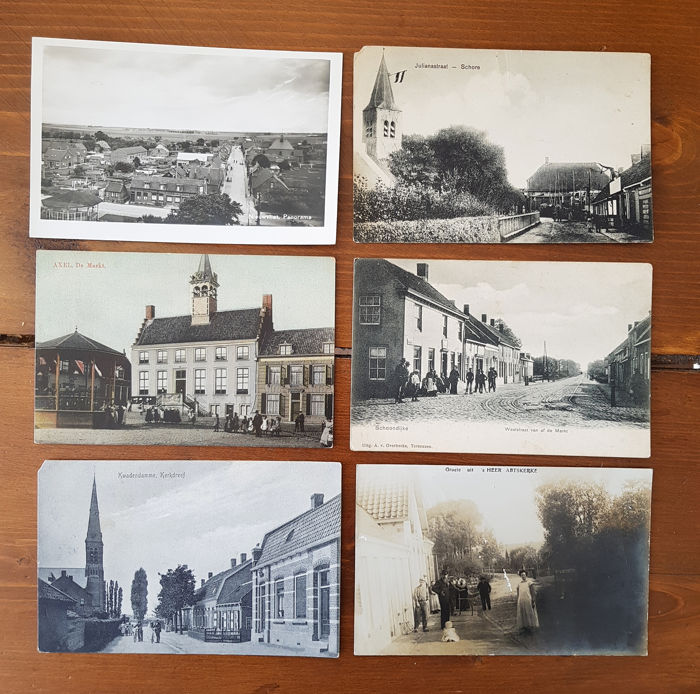 Netherlands - Zealand - Postcards (Collection of 80) - 1900-1950