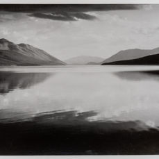 Ansel Adams (1902-1984) - Evening, McDonald Lake, Glacier National Park