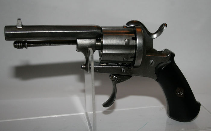France - Double action (DA) - Pinfire (Lefaucheux) - Revolver - 7mm Cal