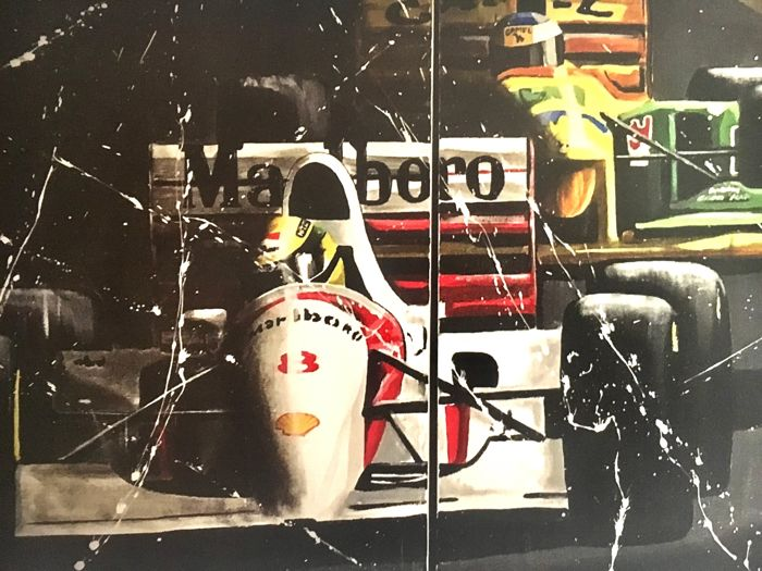 Formula One - Ayrton Senna - 2019 - Artwork