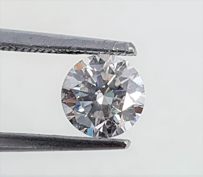 Diamante - 0.74 ct - Brillante - H - VS2