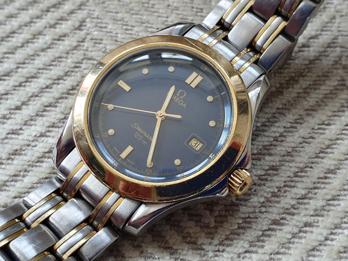 Omega - Seamaster 120 gold plated and stainless steel combination  - Men - 1993