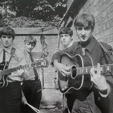 Terry O'Neill (1938-) - The Beatles, Abbey Rd Studios, 1963
